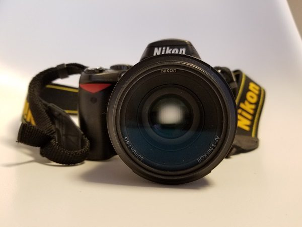 一眼レフカメラD40
