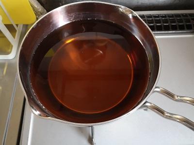 お茶も沸かせています