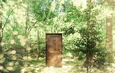 森の中の扉