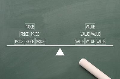 価値と価格のバランス