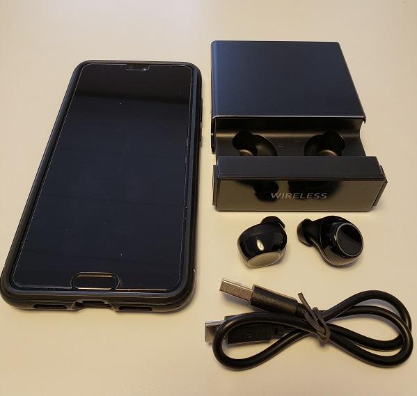独立型Bluetoothイヤホン