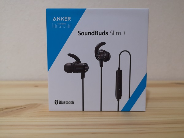 Anker SoundBuds Slim+の外箱