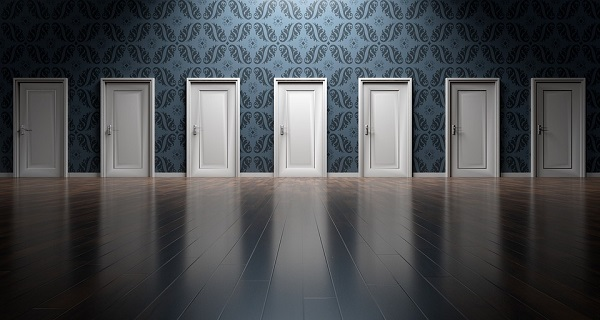 色々な扉や選択肢