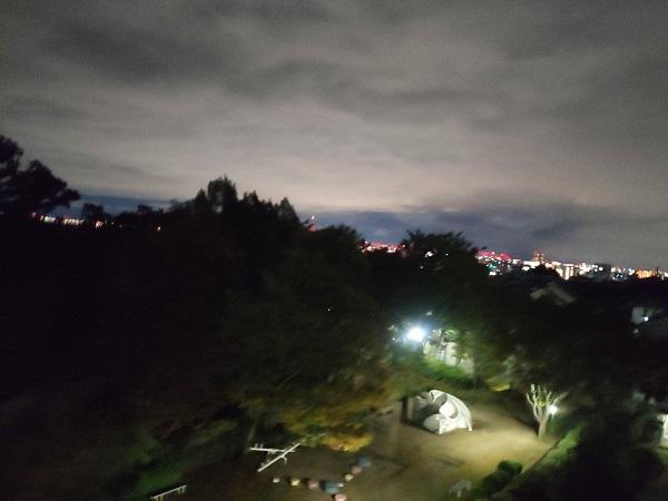 【Xiaomi Mi9写真、作例】夜景モード