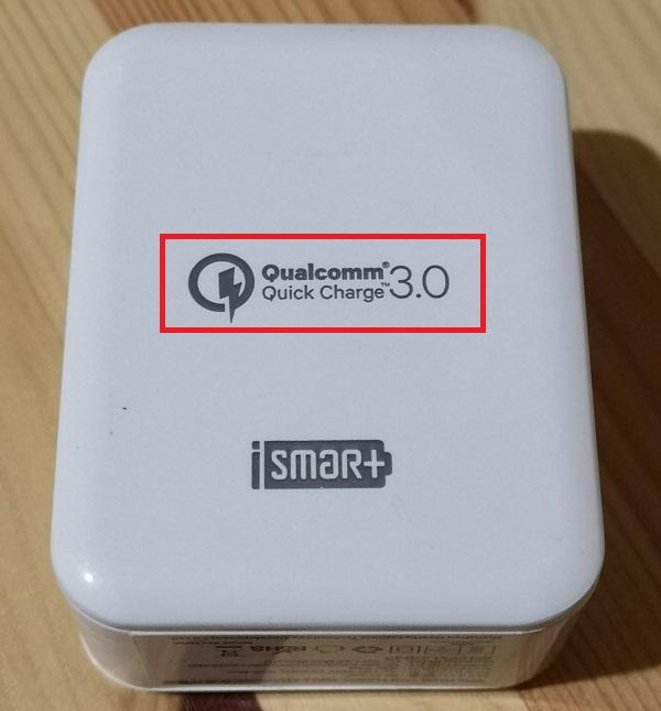 QuickCharge3.0対応アダプター
