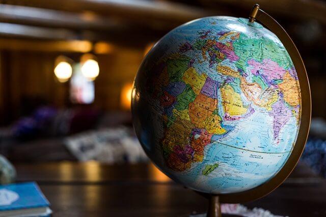グローバル(地球儀)