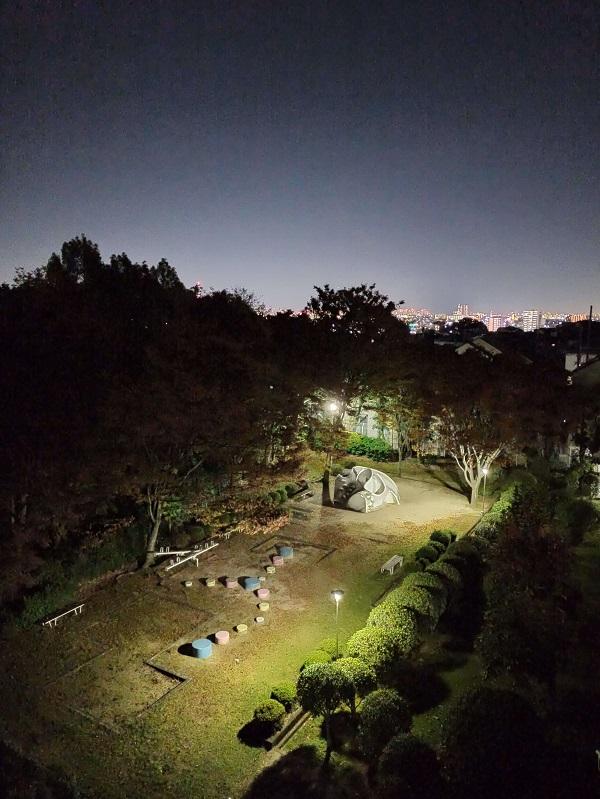 Note8Pro夜景オフAIオン作例