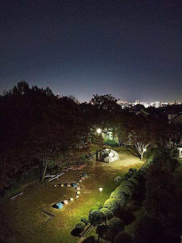 Note8Pro夜景モードの作例
