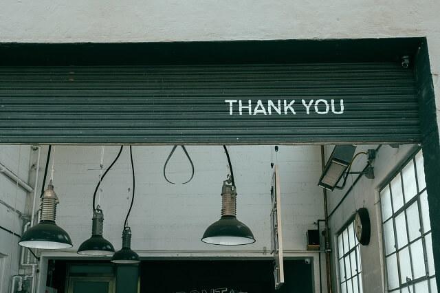サンキュー、ありがとうのメッセージボード
