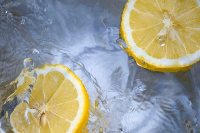新鮮なレモン、ビタミン、健康