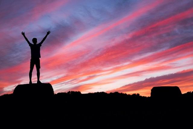焼け|達成感と男と山登り