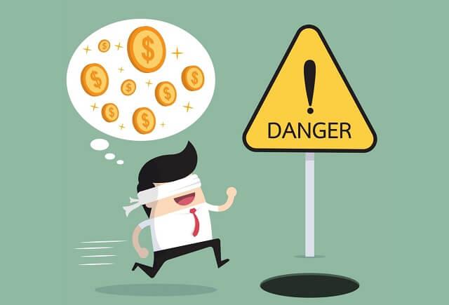 失敗|お金に目がくらんで危険に突っ込む男の子